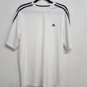 Adidas Climalite White Short Sleeve Shirt.…